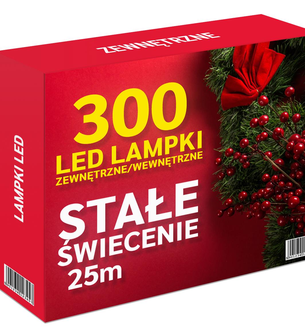 lampki choinkowe bez programatora stałe świecenie