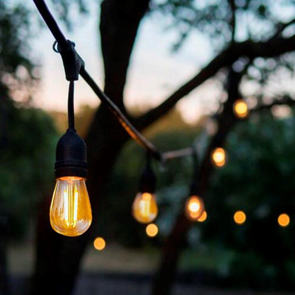 Żarówka LED 0,5W E27 ST45 50lm 2700K