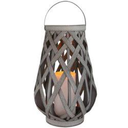 VIBOR latarenka solarna świeczka LED dekoracja ogrodu